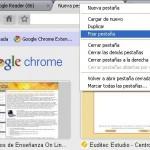 Fijar pestañas en Google Chrome