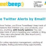 Tweetbeep