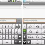 Atajos de teclado en dispositivos con Android