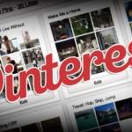 Selecciona las portadas de cada tablón en Pinterest