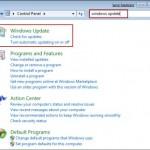 Configura adecuadamente las actualizaciones de Windows 7