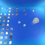 Disminuye el tamaño de los iconos del escritorio