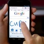 Escritura manuscrita en Google